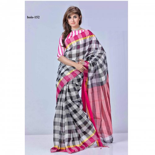 tat cotton saree bois-152