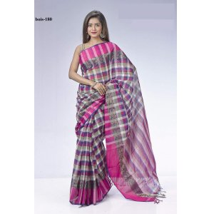 Tat cotton saree bois-180
