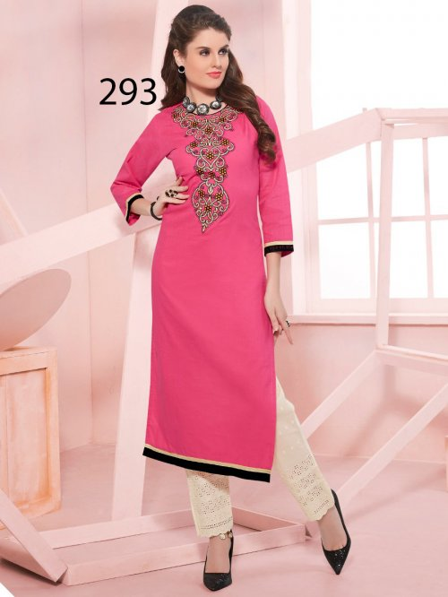 Kurti Latest Designers Kurti party wear ladies salwar suits 293