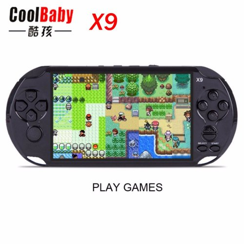 X9 PSP Game Player With 10000 Games 8GB