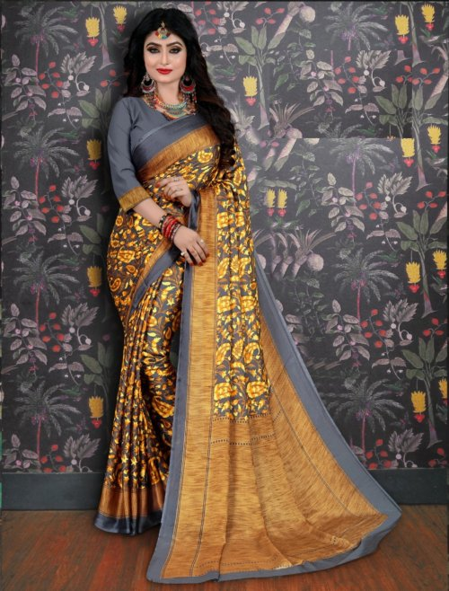 Soft Silk saree se-706
