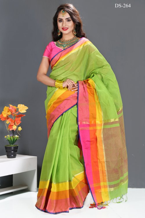 Cotton saree for woman bois-264