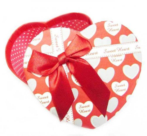 Fm Exclusive Heart Shape Gift Box