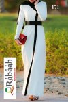Fashionable muslim dress islamic clothing Rabaah Abaya Burka borka 171