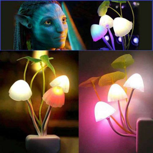 Avatar 7 Color LED Mushroom Light