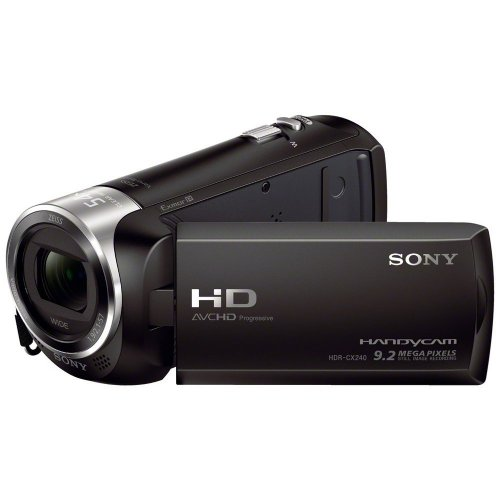 Sony HDRCX240/B Video Camera with 2.7-Inch LCD (Black)