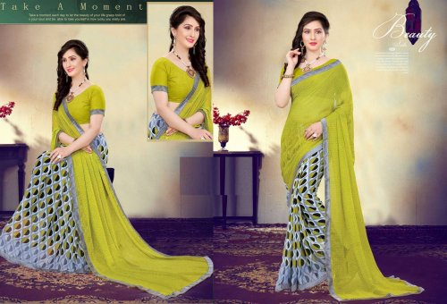 Indian Soft chiffon Saree se-505