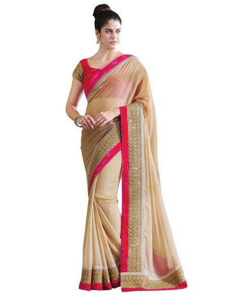 Weight Less Georgette saree SS-84