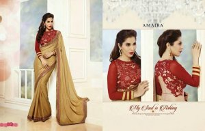 Designer Fancy Saree Code Number: Amaria-29