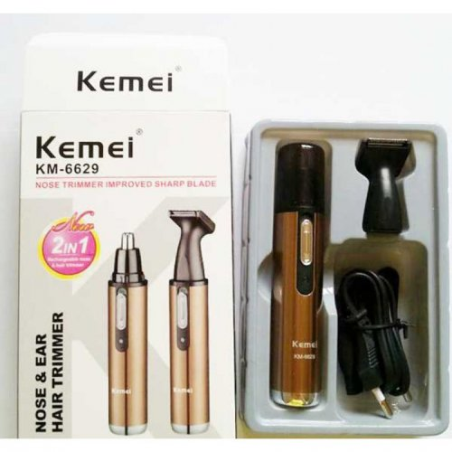 Kemei 2 In 1 Nose And Hair Trimmer