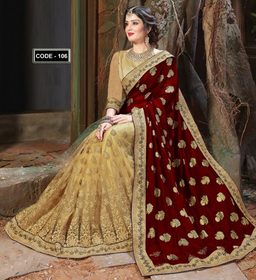 Weight Less Georgette saree Hp-106