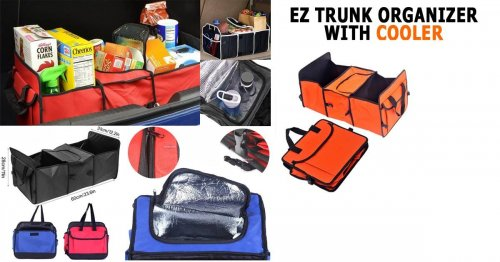 EZ TRUNK ORGANIZER WITH COOLER