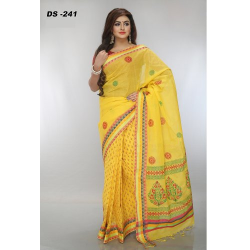 Coton Spacial Block saree