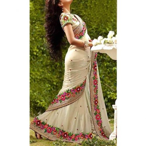 Weight Less Georgette saree Hp-67