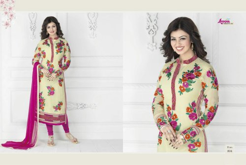 Ayesha cotton with embroidery 804 Replica