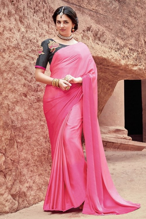 satin silk saree satin silk 17