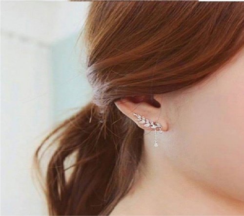 crystal ear ring 7