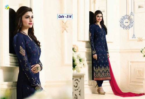 ROYAL BLUE GEORGETTE SALWAR KAMEEZ