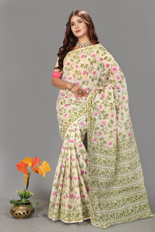 Butics Skin Saree for Woman