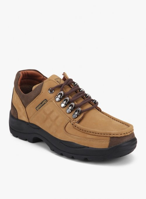 Woodland Casual Shoes CAMEL 3
