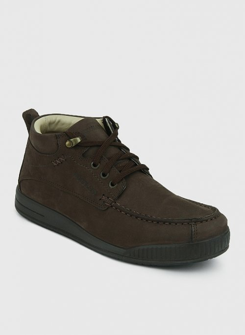 ORIGINAL WOODLAND DARK BROWN CASUAL SHOES