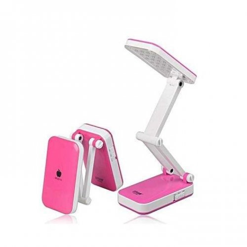 """XoXo LED-666 Folding Desk Led Table Lamp - Pink """
