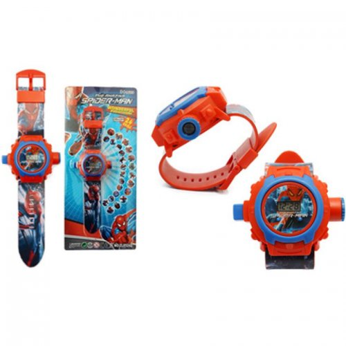 Spiderman Projector Watch For Kids