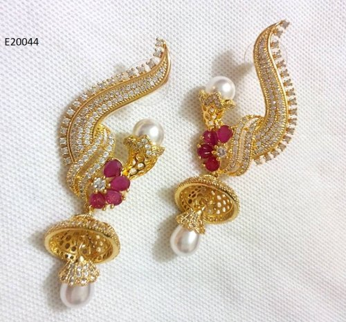 Gold Plated jewelry ornaments Earrings E-20044