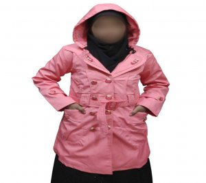 Womens Winter Long Down Cotton Ladies Parka Hooded Coat Quilted pink Jacket Outwear