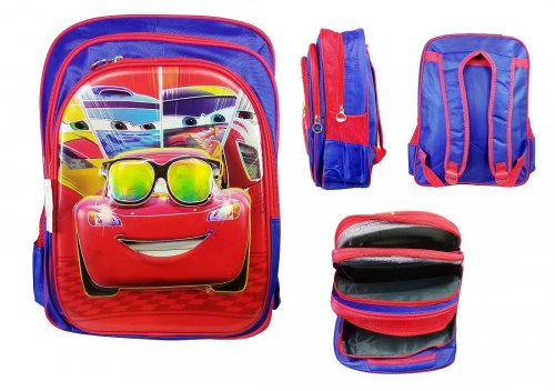 Disney cars backpack school bag