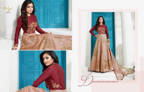Gorgeious Designer Wedding And party Wear Floor Nitya 1007