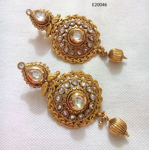 Gold Plated jewelry ornaments Earrings E-20046