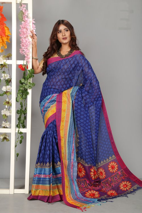 Tangail Butics Saree for Woman