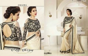Designer Fancy Saree Code Number:V-50