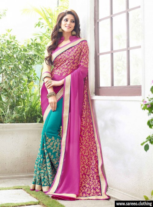 Weight Less Georgette saree SS-240