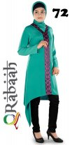 Fashionable muslim dress islamic clothing Rabaah Abaya Burka borka 72