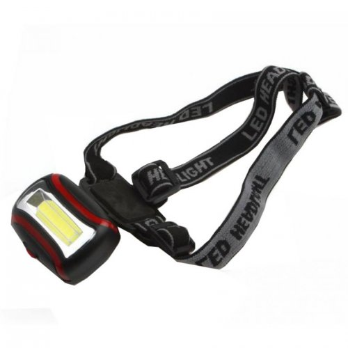 COB LED Head Light Mini Flas Hlight Super Bright Outside