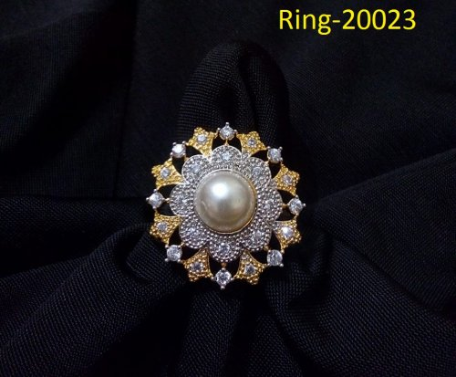 Gold Plated jewelry ornaments Diamond Cut Finger Ring Ring-20023