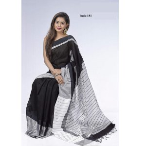 Tosor silk saree bois-181
