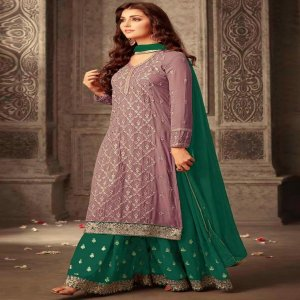Georgette Party Wear Palazzo Suit Maisha 47001H