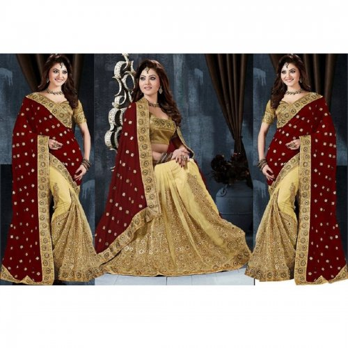 Weight Less Georgette saree SS-645