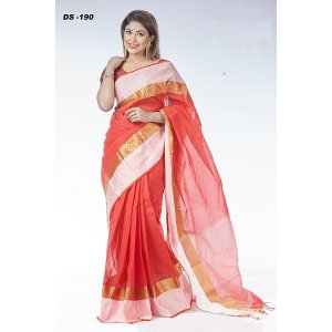 Cotton Tat saree DS-190