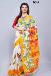 Boishakhi Cotton kota handprint Saree Bois-8