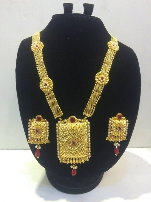 Real Gold Plated Indian Very Exclusive Jewelery