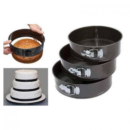 Round Shaped Cake Pan Set - Big Size