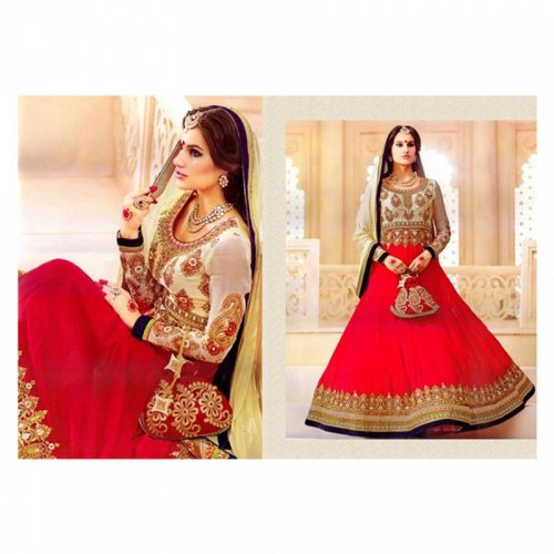 Georgette With Embroidery Zubeda 303