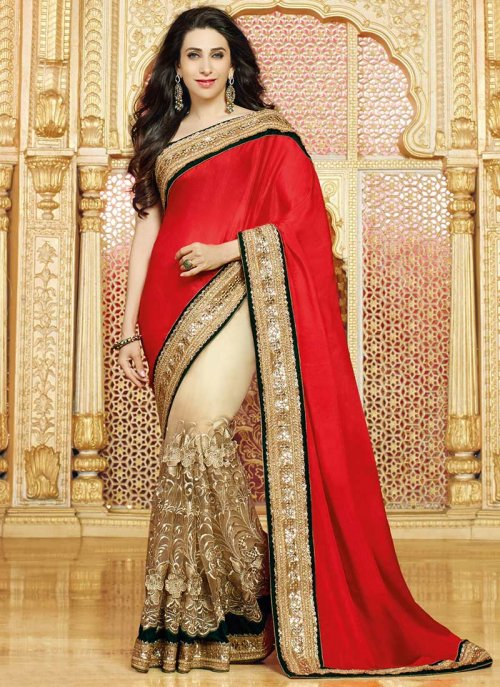 Weight Less Georgette saree SS-514