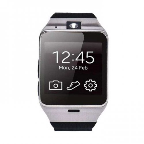 """S2 Single SIM Smartwatch - Black """