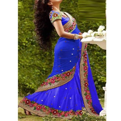 Weight Less Georgette saree Hp-67_1