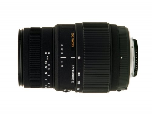 Sigma 70-300mm f/4-5.6 SLD DG Macro Lens with built in motor